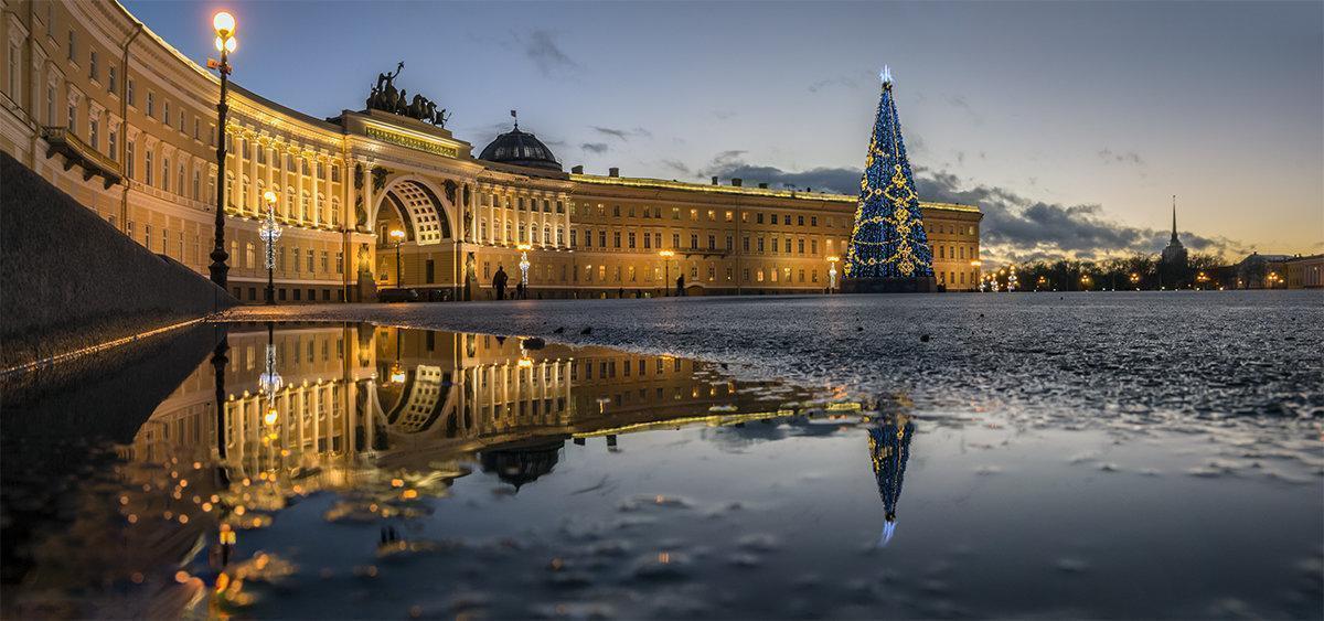 Картинки санкт петербурга на новый год